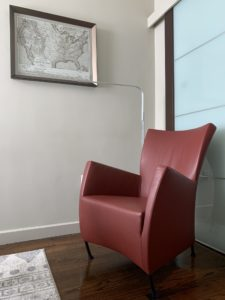 Montis, DEnmark, Danish Designs, Windy, Leather Armchair, Gijs Papavoine, Estate Sale