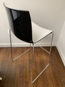 Arper, Arper Furniture, Modern Furniture, Black and White, Second Hand, Shopping, Boston, Designer, Bar Stool, Modern, Estate Sale, Real Estate