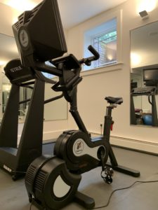 Expresso HD, Upright Bike, Soulcycle, home gym, affordable, secondhand, estate sale, lexington