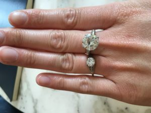 buying second hand jewelry, top ten things to buy at an estate sale, diamonds, ethical diamonds, diamond ring, chestnut hill, ma, masshachusetts, boston, shopping guide, buying guide, karats, platinum, gold, sterling, estate jewelry, boston, brookline