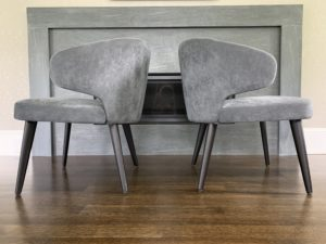 minotti chair, modern design, design within reach, boston, cambridge, hunt estate sales, armchair